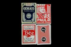 Lot of 4 Decks of Casino Playing Cards Bally's Spirit Mountain The Mill Casino