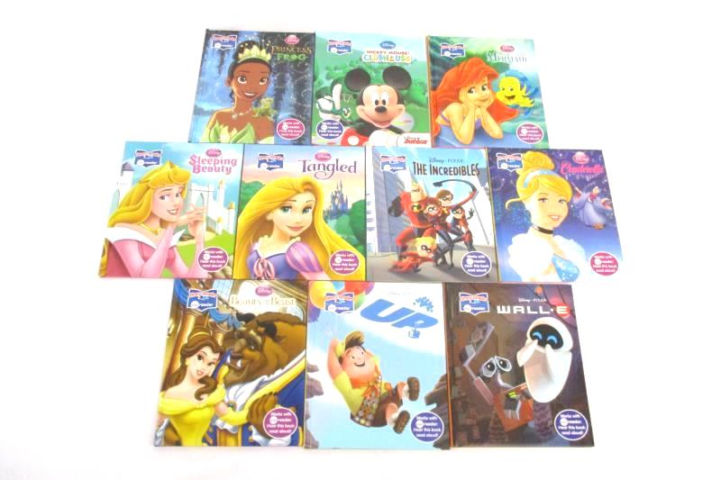 Lot of 10 Disney Story Reader Books for Me Reader Princesses Pixar Mickey Mouse