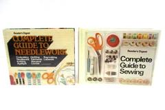 Set of 2 Complete Guide to Sewing and Needlework Embroidery Rug-Making Lacework