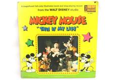 Mickey Mouse This Is My Life 1971 Disneyland Records Vinyl LP ST 3805 12 Inch