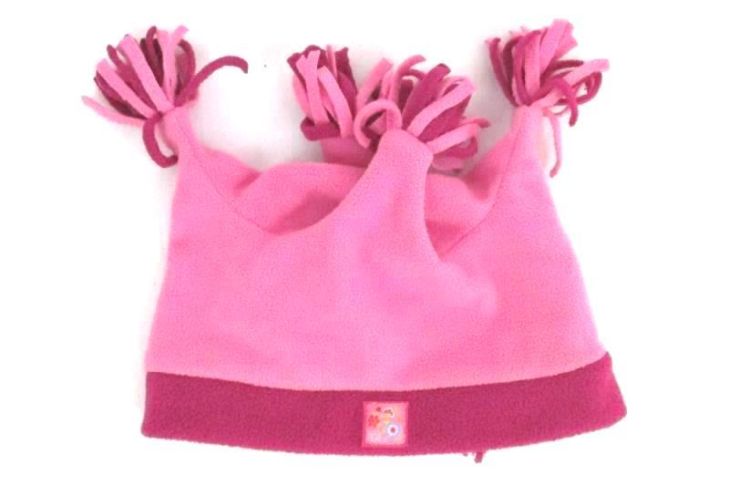 Lot of 3 Toddler Girl's Hats Gymboree Turquoise Cap Baby Place Fleece OshKosh