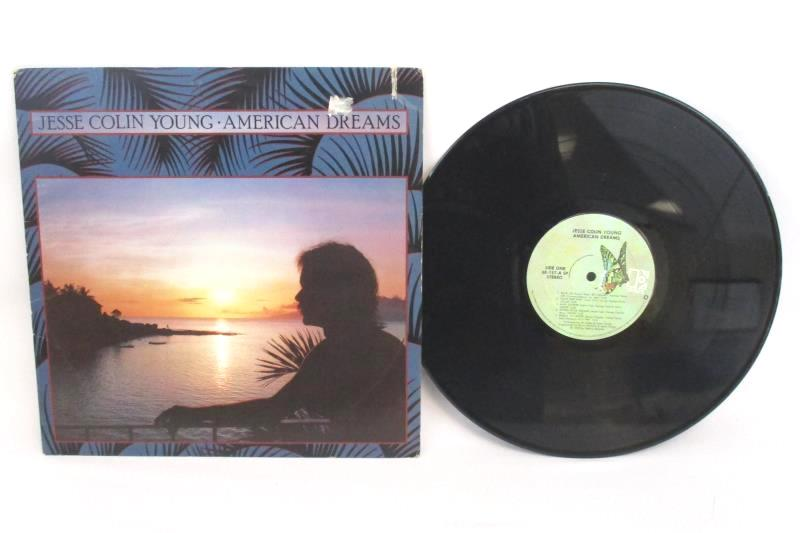 Lot of 2 Jesse Colin Young Vinyl LP Records American Dream 1978 Together 1972