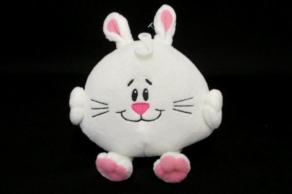 Lot of 4 Cute Bunny Rabbit American Greetings Plush Stocking Stuffer Christmas