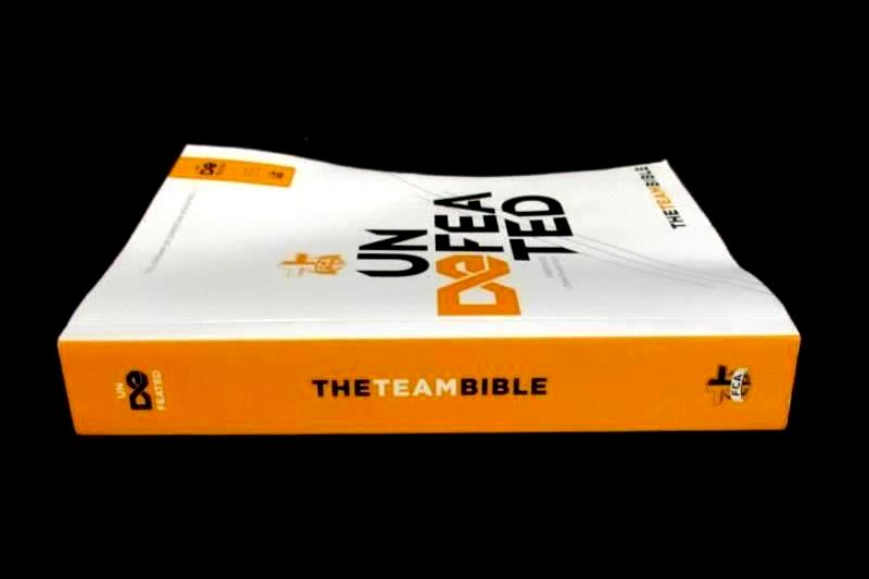 Undefeated The Team Bible Fellowship Of Christian Athletes FCA 2015 Holman Bible