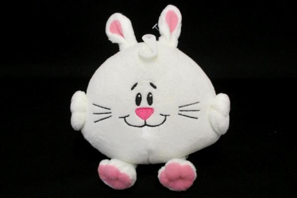 Lot of 3 Cute Bunny Rabbit American Greetings Plush Stocking Stuffer Christmas