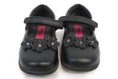 Rachel Shoes Lil Kelsey Jean Shoes Girl's Black Mary Toddler Size 7M