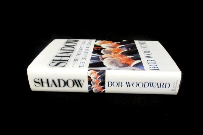 Shadow Bob Woodward 5 Presidents Watergate 1999 Simon & Schuster Hardcover 1stEd
