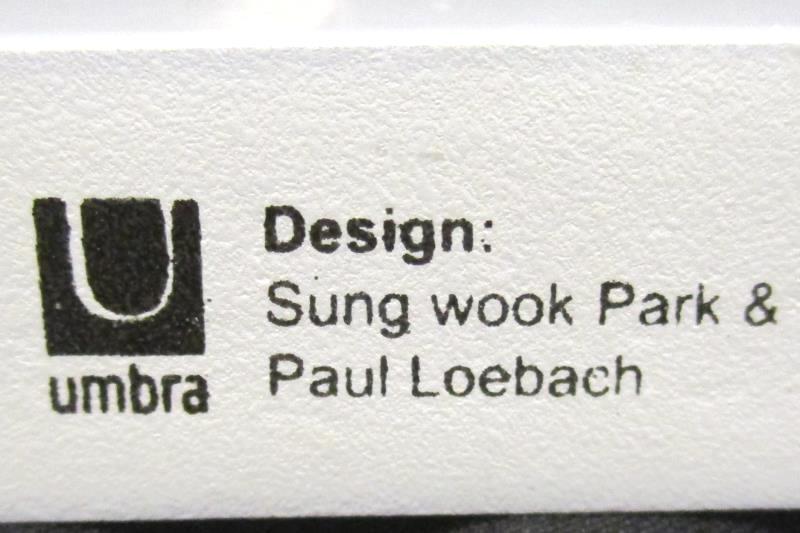 Umbra Sung Wook Park Paul Loebach Wood Wall Hanging Photo Display Clothes Pins