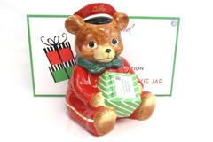 Cubby Bear Cookie Jar 2010 Harry & David Teddy Bear Medford Oregon NIB