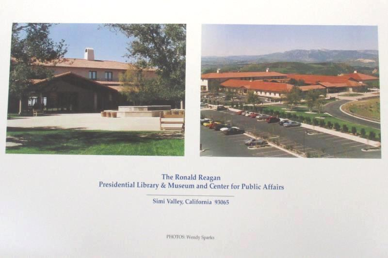 Ronald Reagan Presidential Foundation Calendar 1996 Limited  Edition