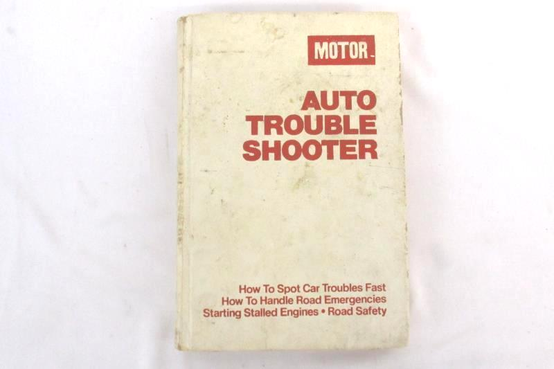 Motor Auto Trouble Shooter 11th Edition Vintage Hardcover Book Hearst Corp