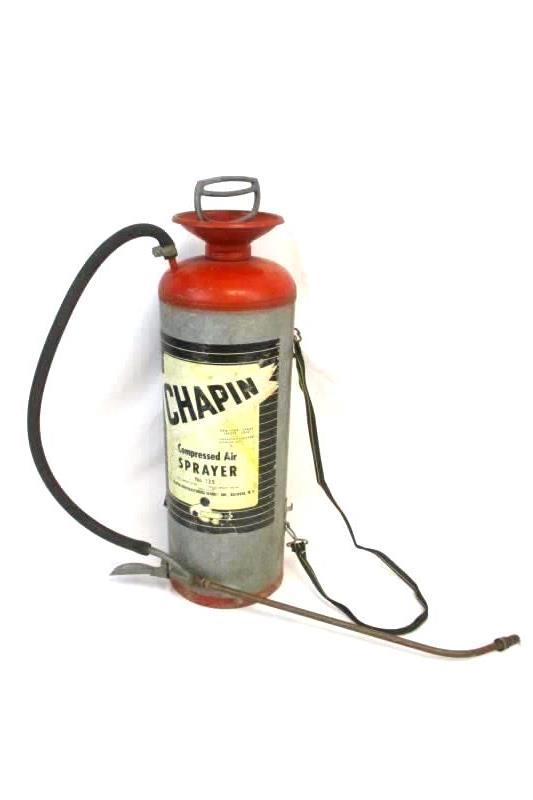 Vintage R.E.Chapin MFG Works Compressed Air Sprayer No. 135 Batavia, NY USA