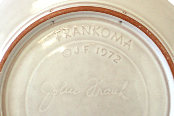 1972 Frankoma Collector Plate Seeking The Christ Child - John Frank Christmas