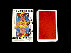 Greg Palast The Jokers Wild Poitical Satire Novelty Playing Cards SIGNED