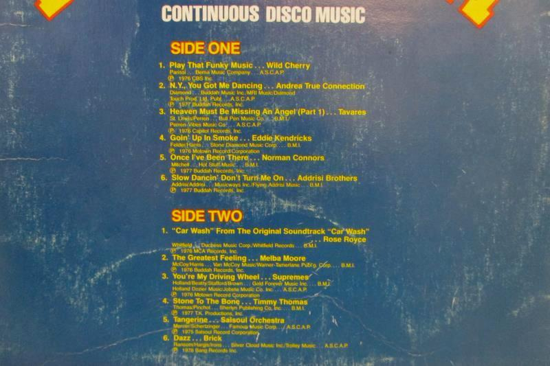 K-Tel's Disco Rocket Volume One 1978 Vinyl 12 inch 33 RPM Record TU 2571
