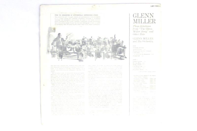 Glenn Miller Selections from The Glenn Miller Story Vinyl Record 1954 LSP-1192