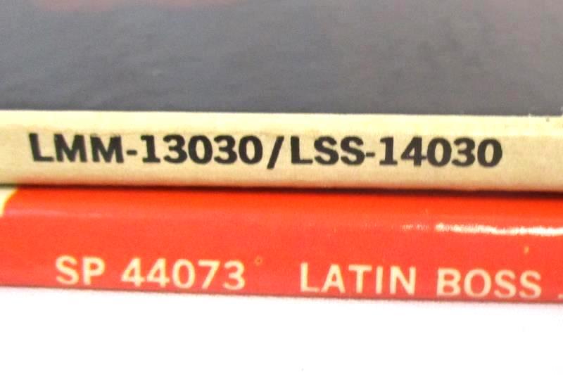 Lot of 2 Latin Vinyl Records 12 inch 33RPM Maria Elena 50 Guitars Latin Boss