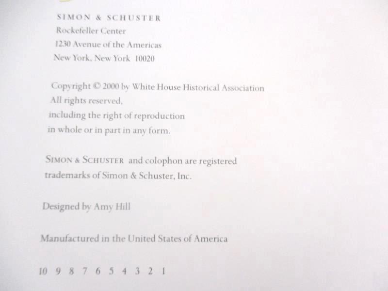 An Invitation to the White House Hillary Radham Clinton 2000 HC DJ