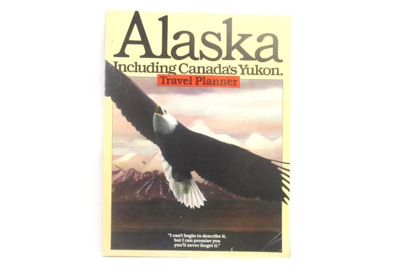 Alaska Including Canada's Yukon 1982 Travel Planner Alaska Division Tourism