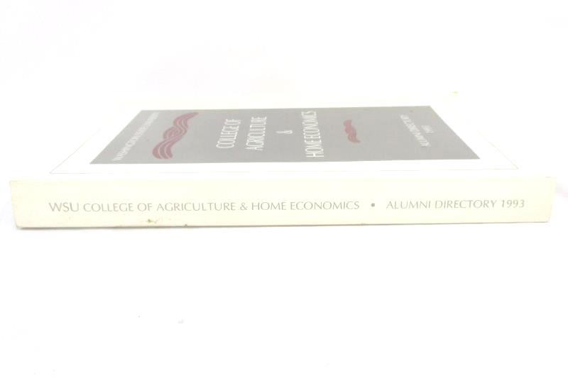 WSU 1993 Washington State University Alumni Directory Agriculture Home Economics