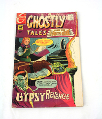 Charlton Comics GHOSTLY TALES FROM THE HAUNTED HOUSE April 1971 Number 85