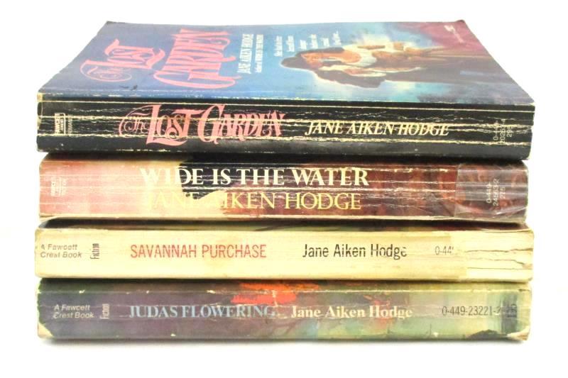 Lot of 4 Vintage Paperback Jane Aiken Hodge Gothic Romance Novels