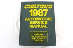 Chilton's 1987 Automotive Service Manual 60th Anniversary Pro Mechanics Ed 83-87