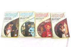 Lot of 4 Caroline Courtney Vintage PB Regency Romance Novels England Mistress