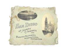 1915 San Diego Photos Scrapbook Panama-California International Exposition