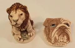 Harmony Kingdom 2002 Royal Watch Collector's Club Kit Box Figurine & Pin MINT