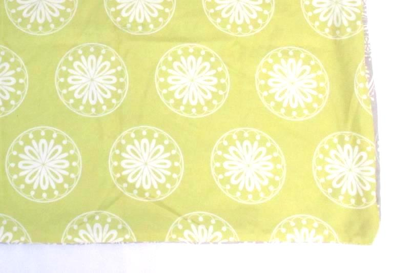 Storehouse Duvet Cover White Yellow Gray Floral Buttons Pillow Sham Size 90 X 90