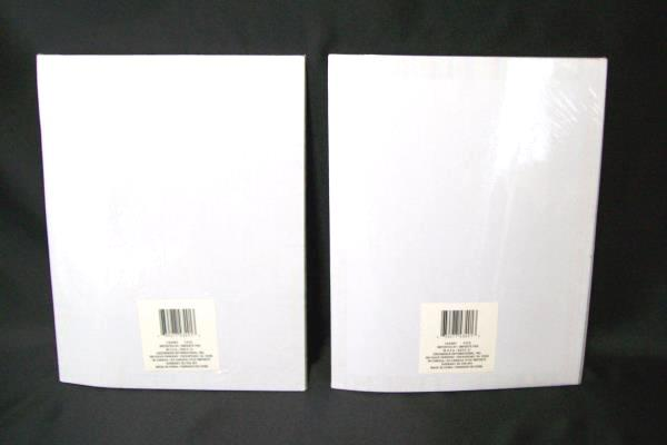 Lot of 2 Computer Printer Paper 40 Sheets Each Fun Colored Boarders Geometric