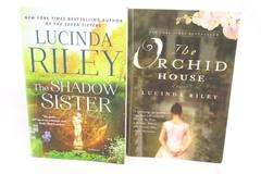Lot of 2 Lucinda Riley Paperback Novels Orchid House 2011 Shadow Sister 2016