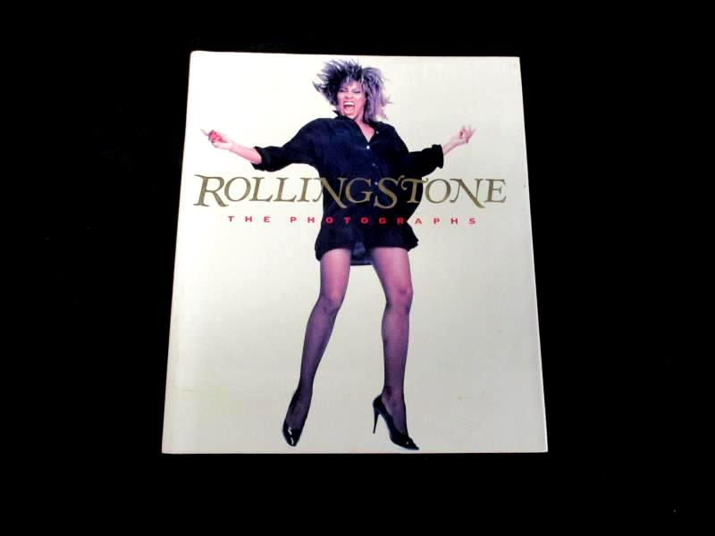 Rolling Stone The Photographs 1989 Simon & Schuster Hardcover with Dust Jacket