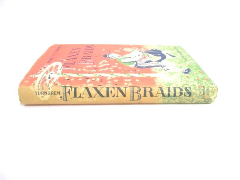 Flaxen Braids Annette Turngren 1959 HC DJ Prentice Hall Real Swedish Childhood