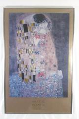 Gustav Klimt 'The Kiss' Framed Matted Print 34 X 22