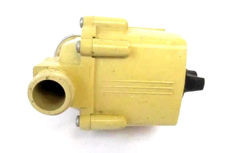 Craftsman Vintage Water Meter 69392 Auto Beige Black Turn Dial