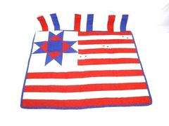United States Flag Quilt Wall Hanging 31 x 29in
