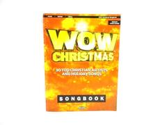 2002 WOW Christmas Songbook 30 Top Artists And Holiday Songs Piano Guitar Vocal