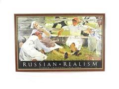 Framed Russian Realism Hidden Treasure 1930-1980 Poster Nikolai Barskakov Print
