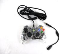 PDP Afterglow Xbox 360 Clear PL-3702 Controller Wired LED with USB Adapter