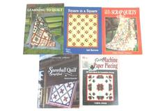 Lot of 5 Quilting Magazines Scrap Quilts Easy Machine Paper Piecing Snowball
