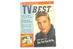 Vintage TV Best Magazine April 1957 Elvis Cover Plaza Digest Inc Vol 2 No 2