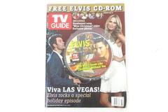 TV Guide December 11-17 2006 Duhamel Sims Cover With Elvis CD Magazine