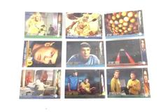 Lot of 9 Star Trek 1997 The Original Series Trading Cards Sky Box By Episodes