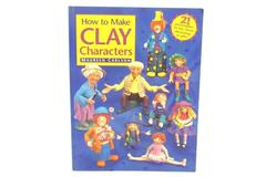 Pottery Clay How to Make Clay Characters Book 21 Designs Maureen Carlson