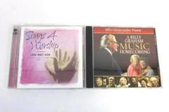 Lot of 2 Worship CDs Songs for Worship Lord Most High Billy Graham Homecoming