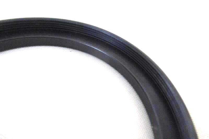 Lot of 2 Tiffen Black Metal Camera Rings Step Down 55mm-52mm Step Up 52mm-58mm