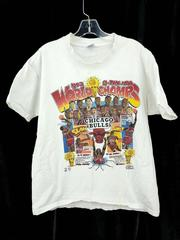 Chicago Bulls Salem Comic Caricature T-Shirt 1993 NBA World Champs Youth 18-20
