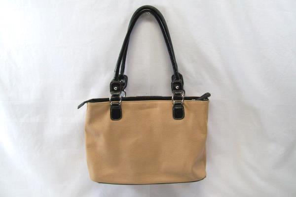 Nine West Tan And Black Shoulder Bag